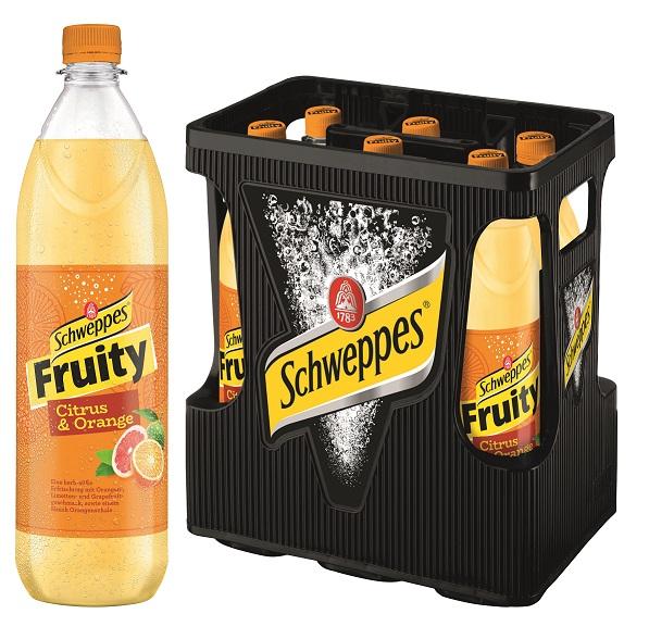 Schweppes Fruity Citrus Orange