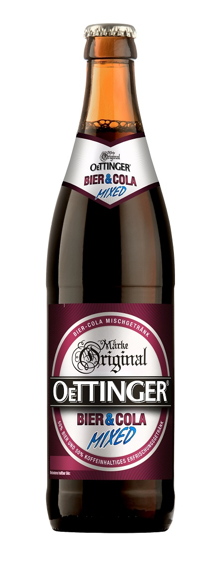 Oettinger MIXED Bier + Cola