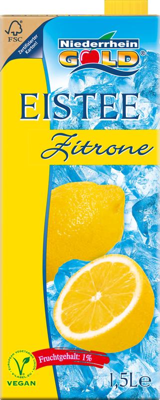 Niederrhein-Gold Eistee Zitrone
