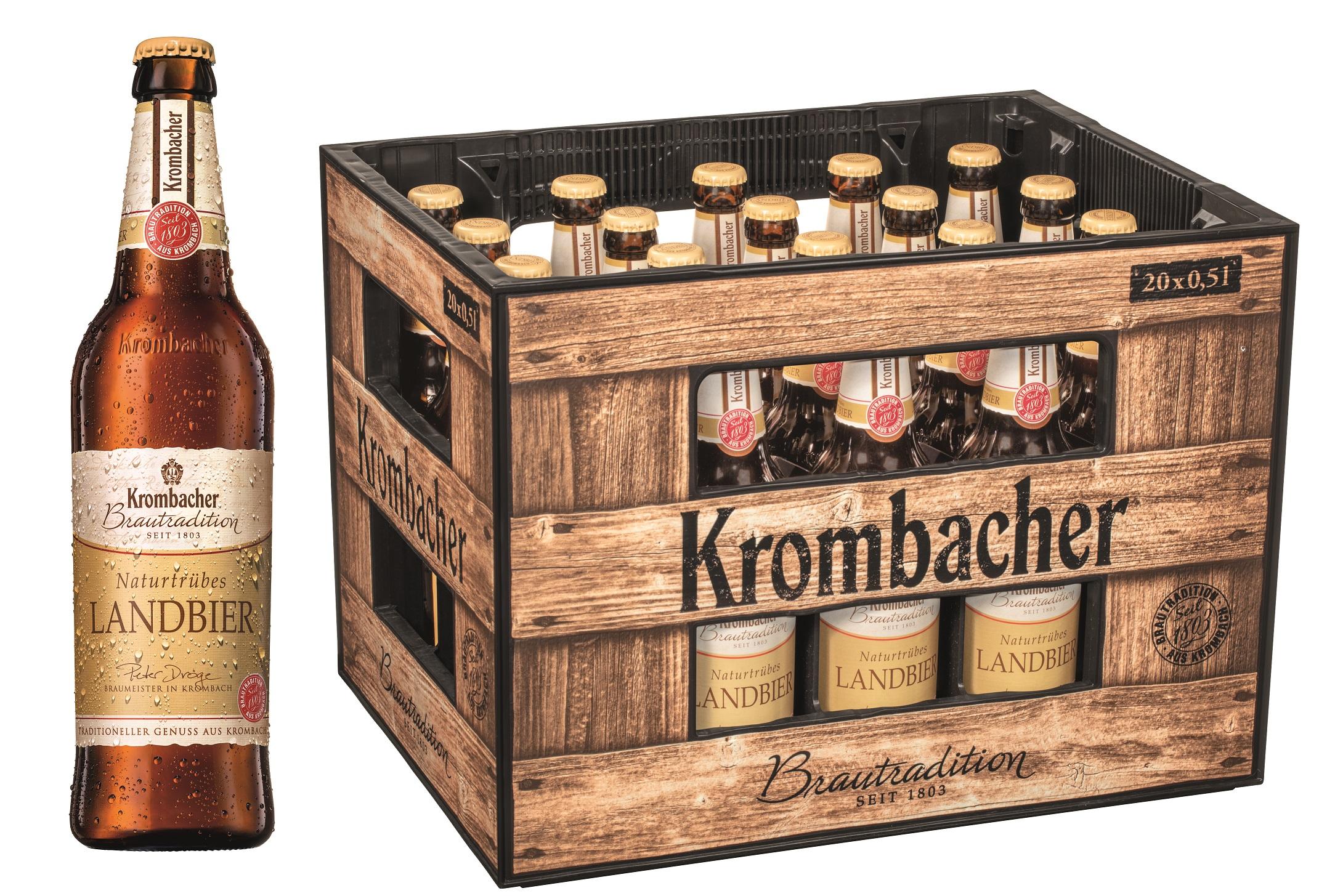 Krombacher Brautradition Landbier