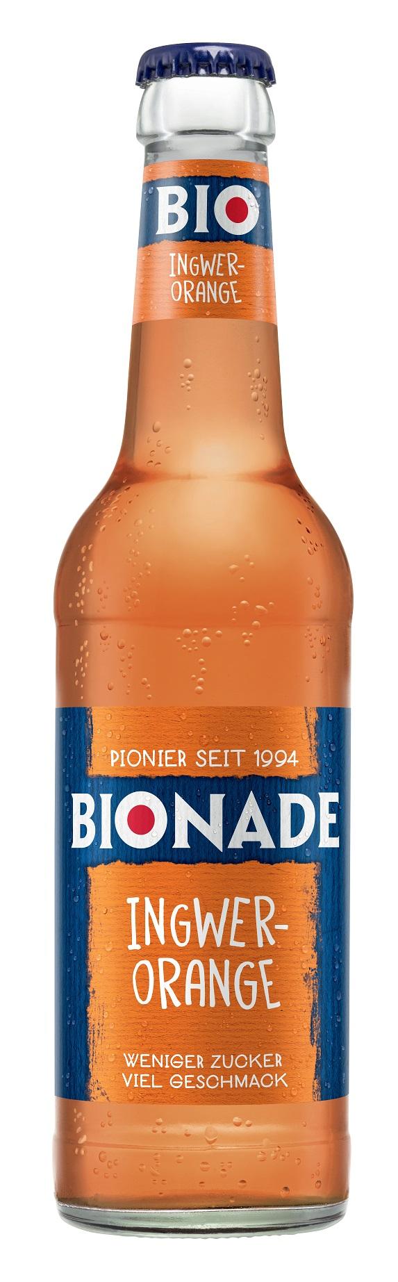 Bionade Ingwer-Orange