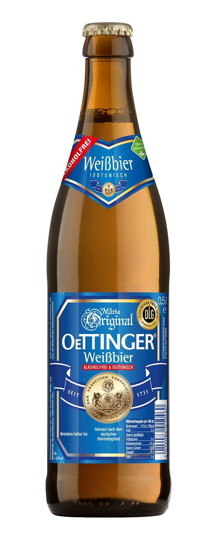 Oettinger Weizen alkoholfrei