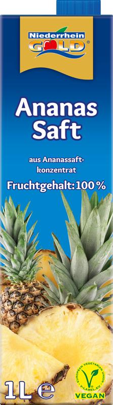Niederrhein-Gold Ananas-Saft