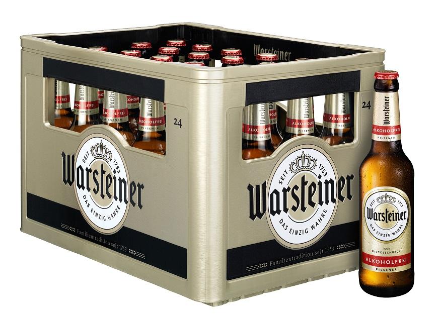 Warsteiner Alkoholfrei Pilsener 6er
