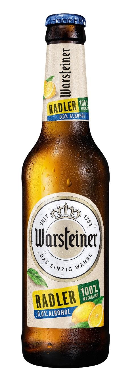 Warsteiner Radler Alkoholfrei 6er