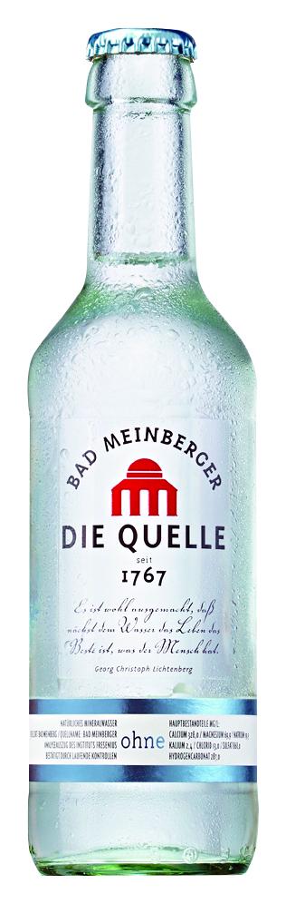 Bad Meinberger ohne Kohlensäure