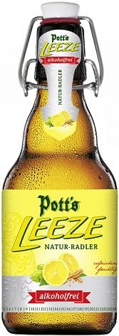 Potts Leeze Natur-Radler alkoholfrei