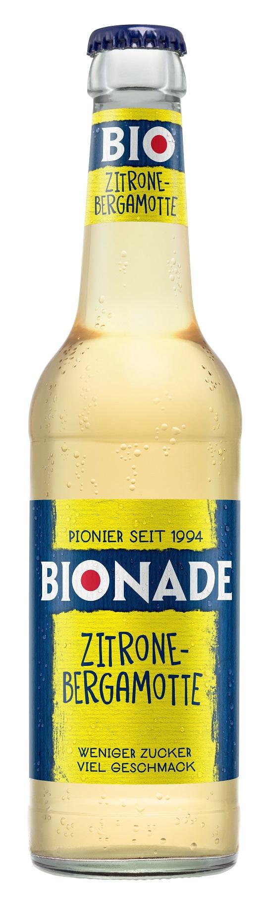Bionade Zitrone-Bergamotte