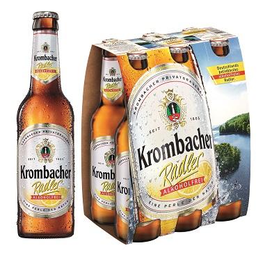 Krombacher Radler Alkoholfrei Einzeltray