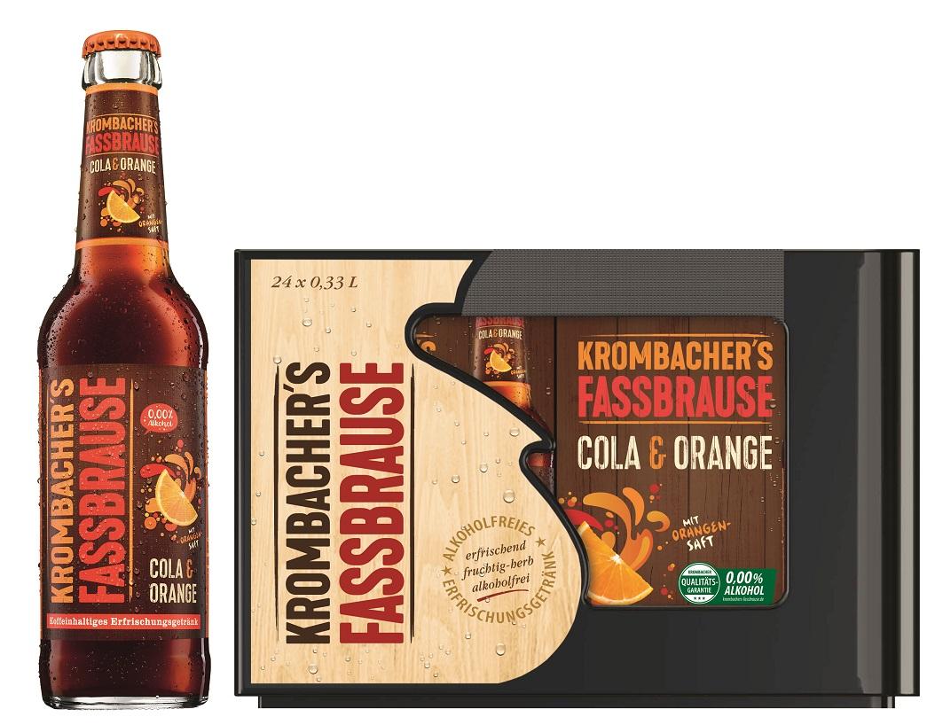 Krombacher Fassbrause Cola & Orange 6er