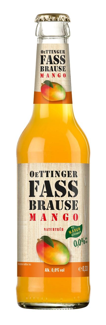 Oettinger Fassbrause Mango