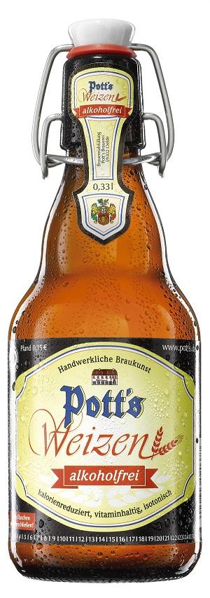 Pott's Weizen alkoholfrei