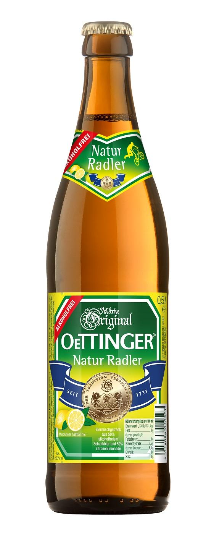 Oettinger Natur-Radler alkoholfrei