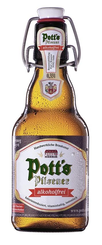 Pott's Pilsener alkoholfrei