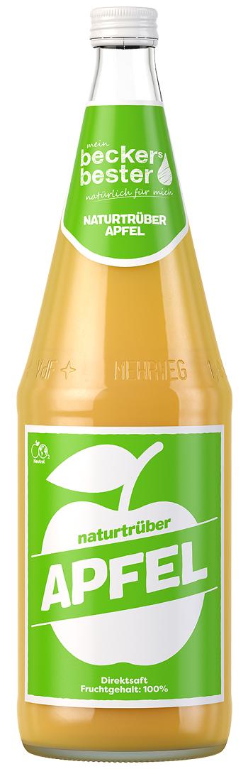 Beckers Bester Naturtrüber Apfelsaft (Direktsaft)