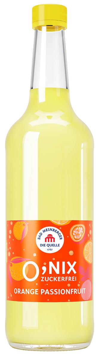 Bad Meinberger 0,nix Orange Passionsfrucht