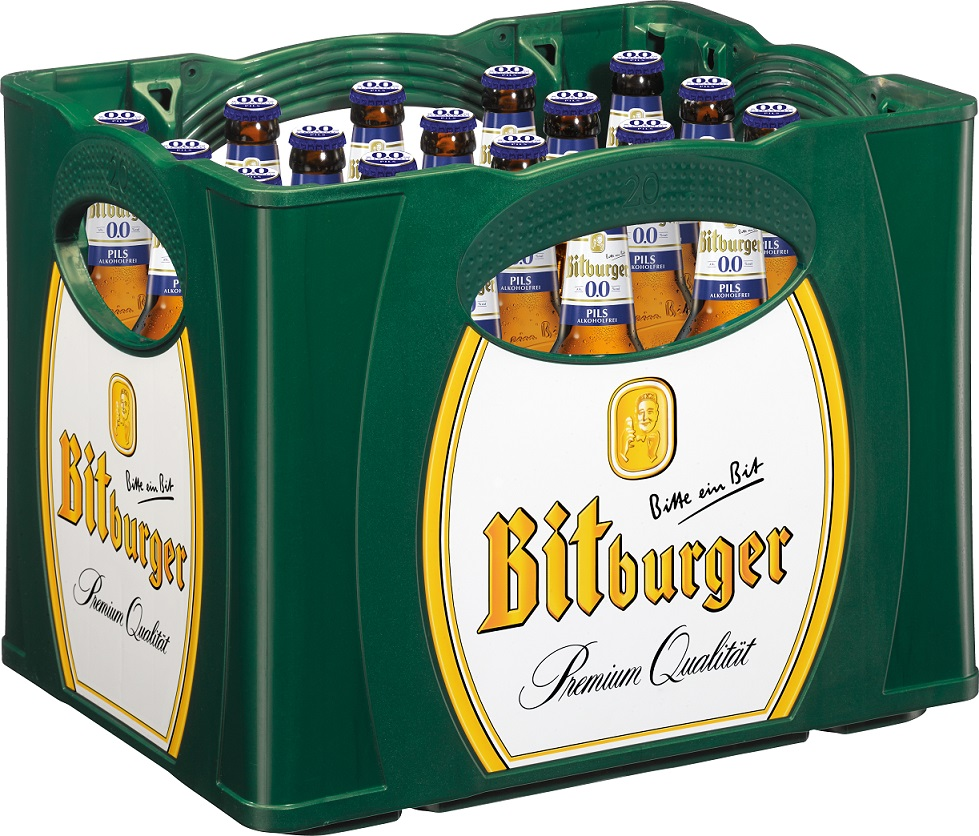Bitburger 0,0 % Alkoholfreies Pils