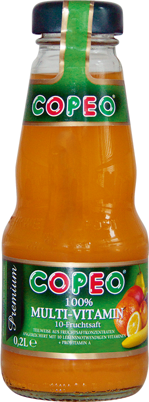 Copeo Multivitamin 10-Fruchtsaft