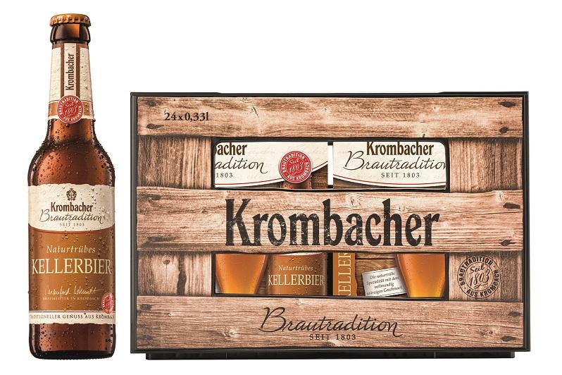 Krombacher Brautradition Kellerbier 6er