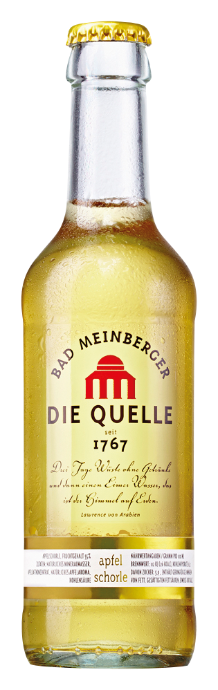 Bad Meinberger Apfelschorle