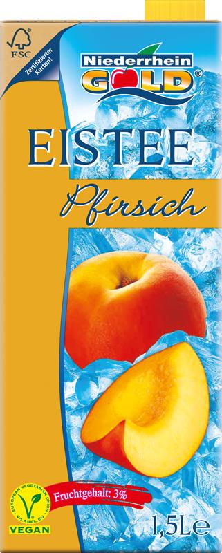 Niederrhein-Gold Eistee Pfirsich